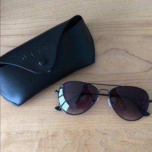 NEW DIFF Aviator Sunglasses